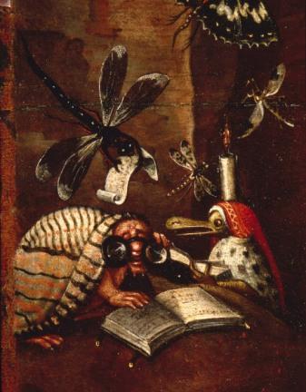 JS nach Bosch(?), Die Hoelle, Det. - JS after Bosch (?) / Hell / detail -