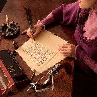 olde-tyme-writing-set-a-lady-writing