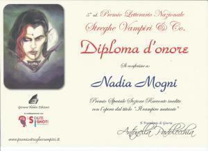 Il diploma d'onore per i finalisti